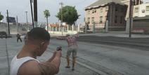 GTA V violence