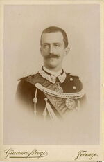 Brogi, Carlo (1850-1925) - Vittorio Emanuele III di Savoia