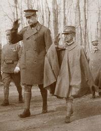 Albert I and Victor Emmanuel III