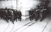 French soldiers on Maginot Line