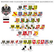 Wappen und Flaggen des Deutschen Reichs und der Preußischen Provinzen