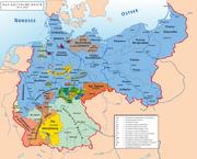 Karte des Deutschen Reiches 1919–1941
