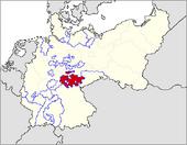 CV Map of Thuringia 1919-1934