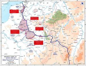 Western front 1918 german