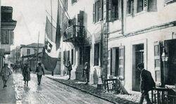 Vlora zur Zeit der italienischen Besatzung 1916-1920