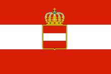 Austrian war flag