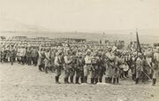 Muster on the Plain of Esdraelon 1914