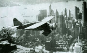 Lituanica Above New York