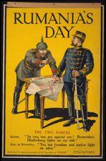 WWI Poster Rumania