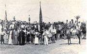 Recruiting for the Holy War near Tiberias 1914