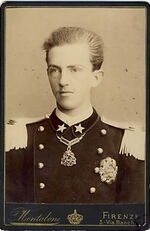 Montabone, Luigi (18..-1877) - Vittorio Emanuele III da ragazzo