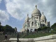 La Basilica del sagrado Corazón de Montmartre