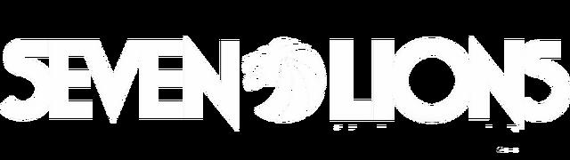 File:Seven Lions logo (white).png