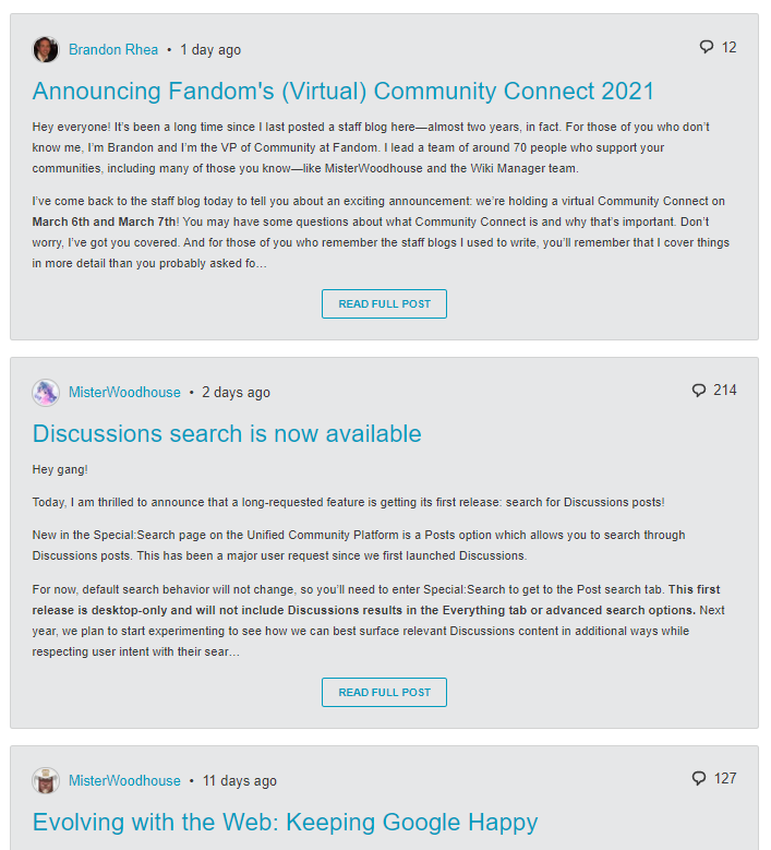 help blogs bloglist community central fandom powered by wikiabloglist example update