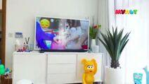 Телевизор в 3д анимации