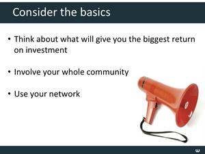 Design & Promotion Tips Slide19