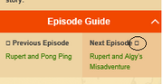Episode guide problem