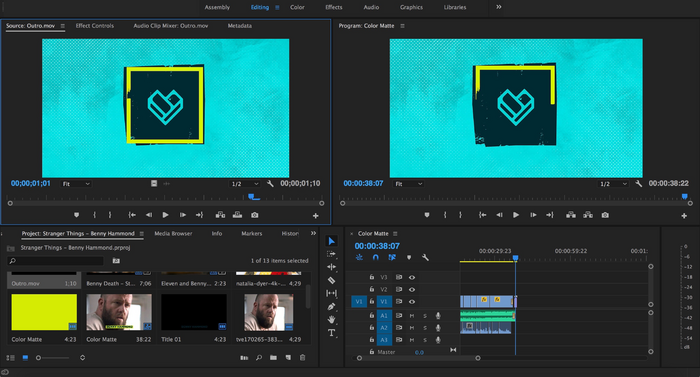 Creating a FANDOM video in Adobe Premiere