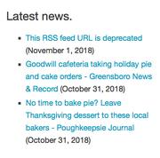Bad RSS