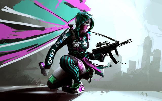 File:Game girl sketch.jpg