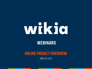 Online Privacy Webinar Slide01