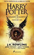 Portada español Harry Potter y el legado maldito
