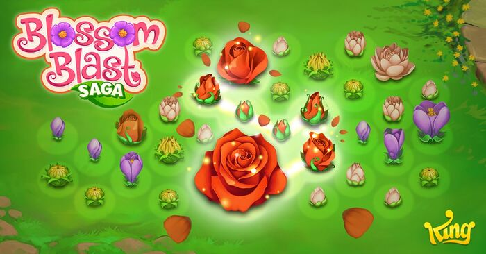 Blossom Blast Saga footer gameplay bg