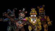 FNAF 4 Animatronics