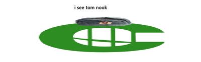 I see tom nook