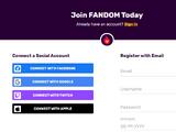 Create an account