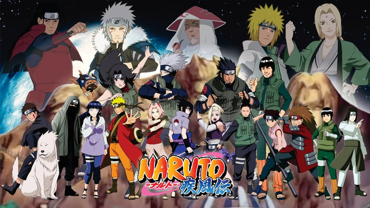 Naruto Characters In Real World Background Wallpaper: Naruto-Shippuden-Konoha-Wallpapers-HD.jpg