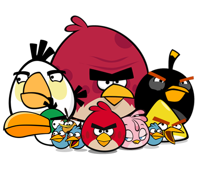 Image Sawamura Angry Png: Image - The Flock Angry Birds.png