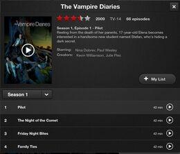 Netflix TVD