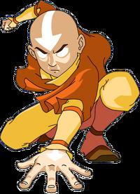 Ukrainian Animanga Portal Template Aang