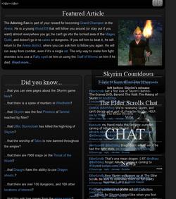Tes homepage