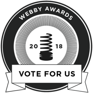 Webby Awards Vote For Us
