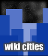 Skylinesque Logo With Even Lighter Buildings And Starry Background