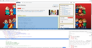 Google Chrome Inspect Example