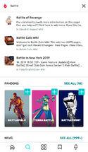 Fandom App Search