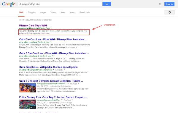 GoogleDescription