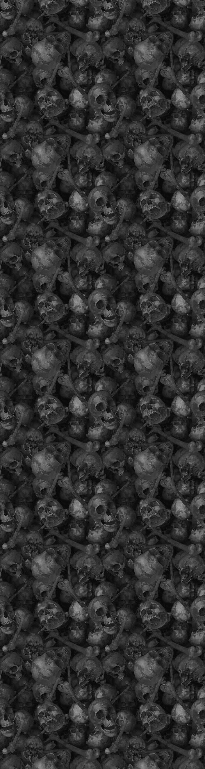 Skull Tile Gray Wikia Template