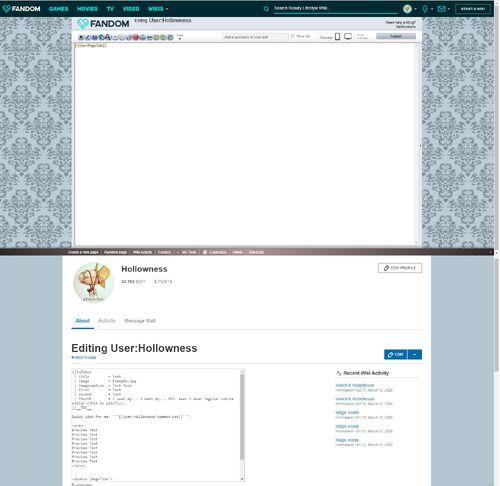 UCP Source Mode vs Wiki Source Mode
