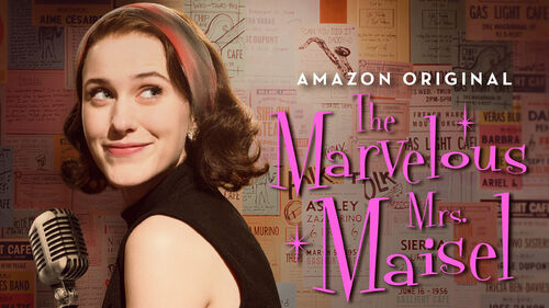 The marvelous mrs maisel cover image