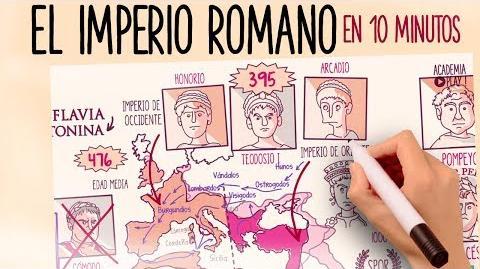 El Imperio Romano en 10 minutos (remasterizado)
