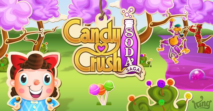 Candy Crush Soda Saga footer gameplay bg