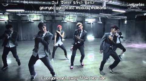 EXO - Growl (Korean ver