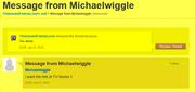 Michaelwiggleexamplemessage