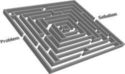 Problem solution maze