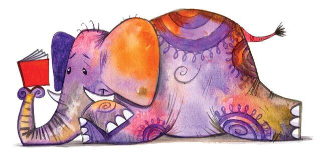 File:Reading elephant.jpg