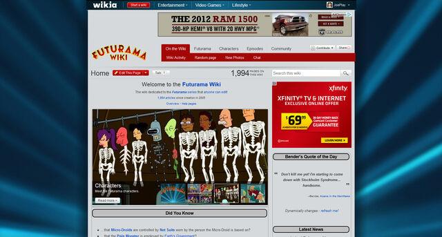 File:FuturamaWiki-screenshot.jpg